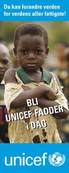 Bli Unicef-fadder