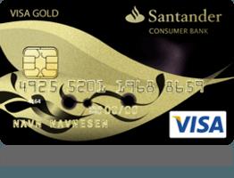 FORBRUKSLÅN: Santander Visa