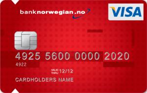 FORBRUKSLÅN: Bank Norwegian Kredittkort