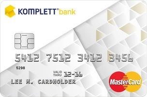 FORBRUKSLÅN: Komplett Bank Kredittkort